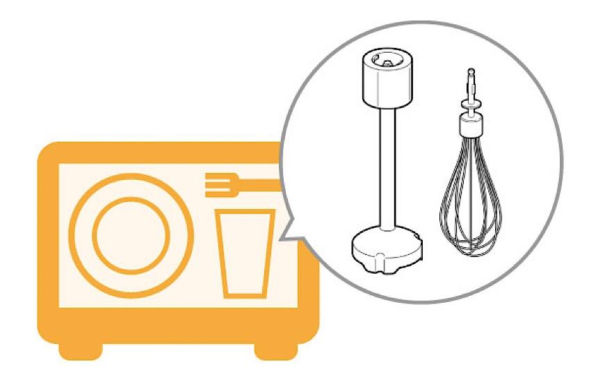 ハンドブレンダー テスコム は食洗機対応
