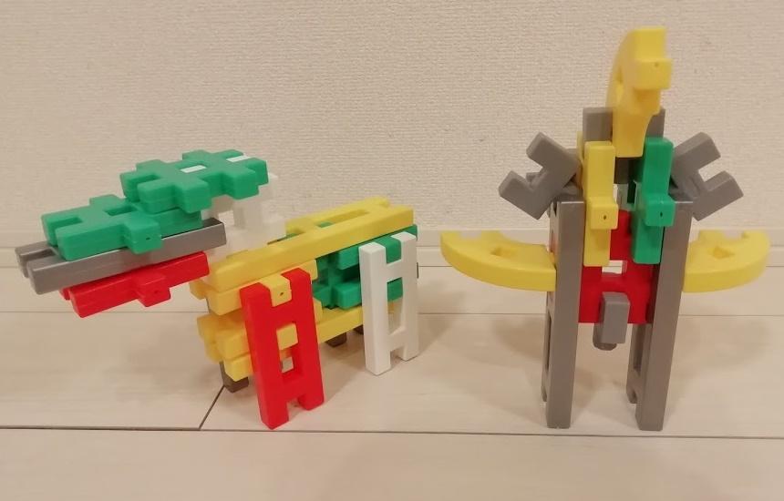4歳の息子が作った作品②