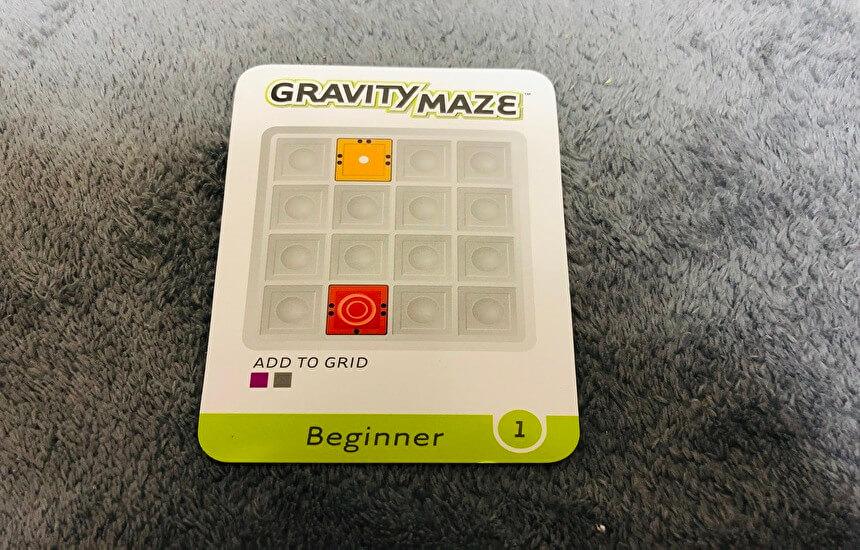 グラビティメイズカード