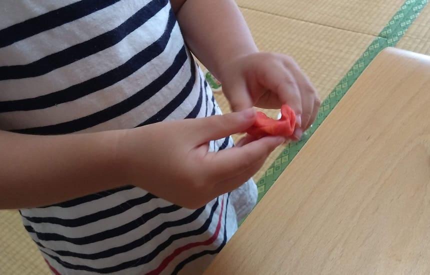 ボーネルンドのかんてんネンドSTUDIOの口コミ 2歳でもきれいに混ぜられます。