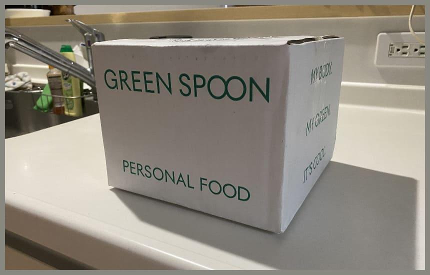グリーンスプーンの入っている箱