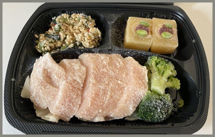 筋肉食堂deliの鶏むね肉の塩こうじのメニュー内容