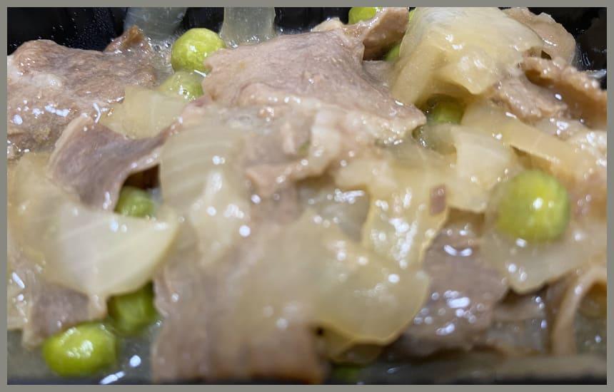 まごころケア食の焼き肉弁当の焼き肉