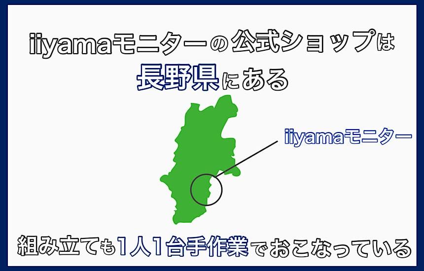 飯山は長野県にある