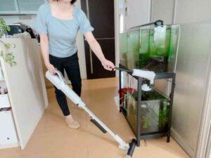 ic-sldc11で掃除をしているところ