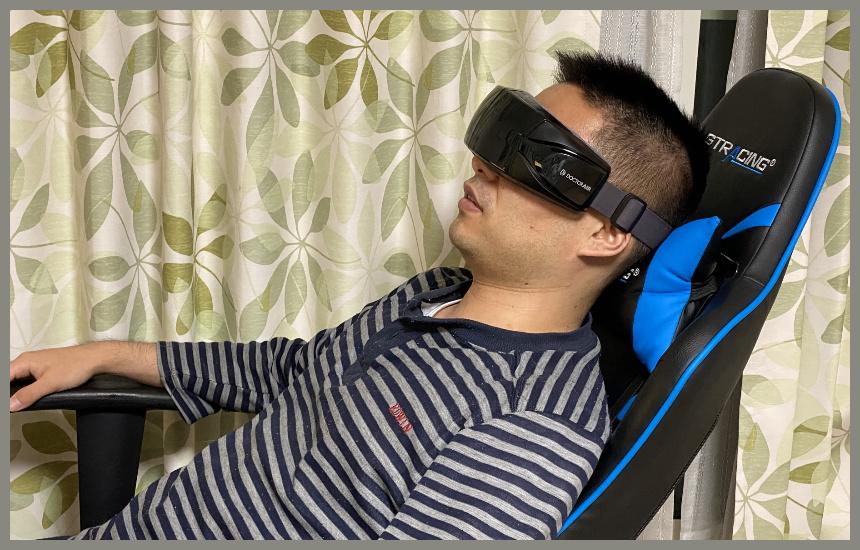 3dアイマジックsで椅子に座っている