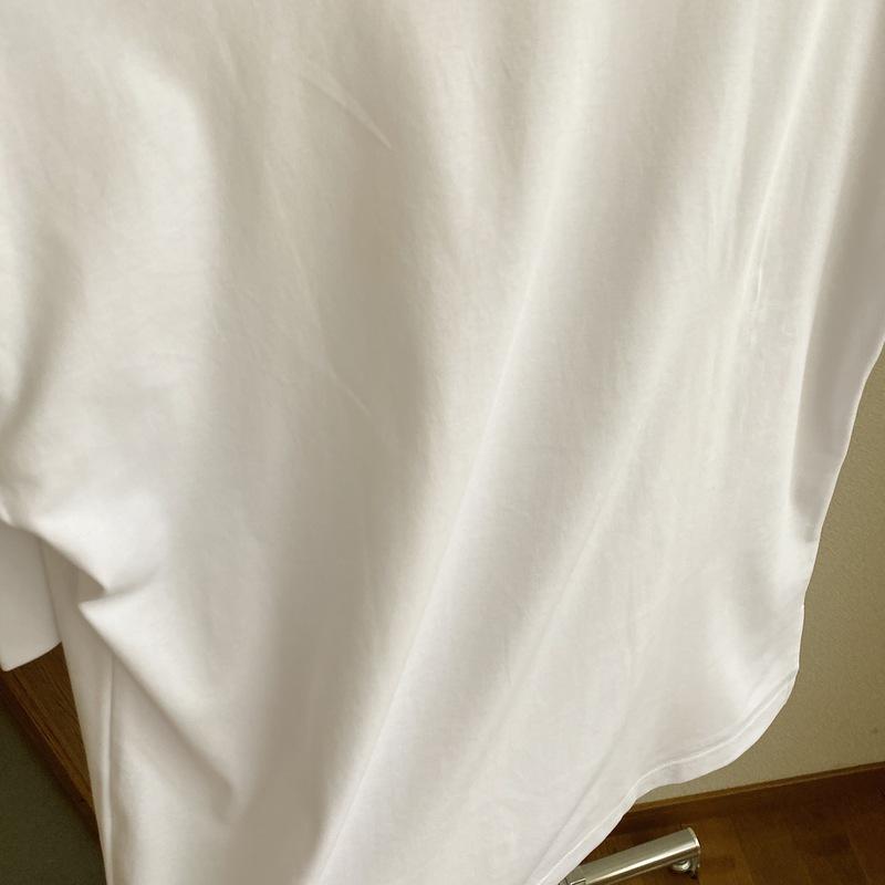 Tシャツ シワ