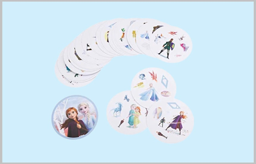 アナと雪の女王Ⅱのカード