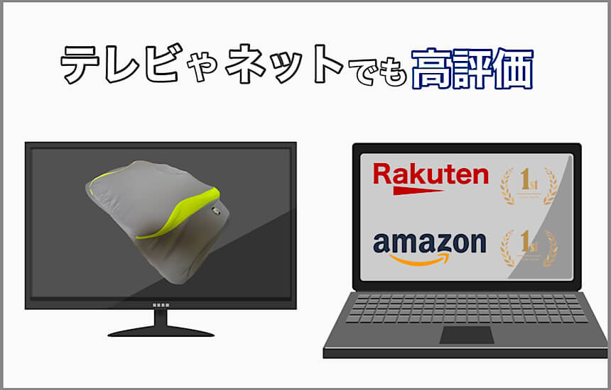 テレビやネットでもyokone3は高評価