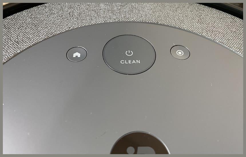 ルンバi3のボタン3つ
