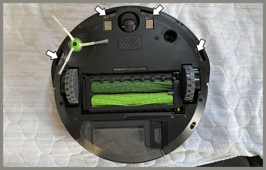 ルンバi3の段差センサー
