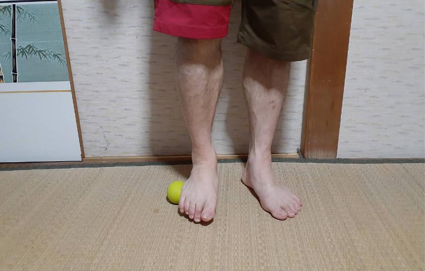 足裏のマッサージ