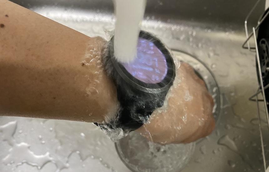 vivoactive4の防水性能