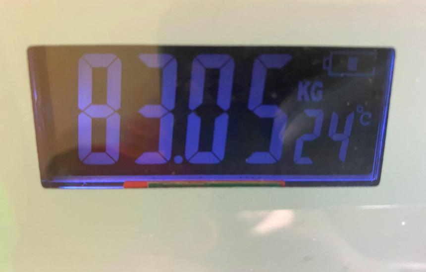 nmnの体重8日目
