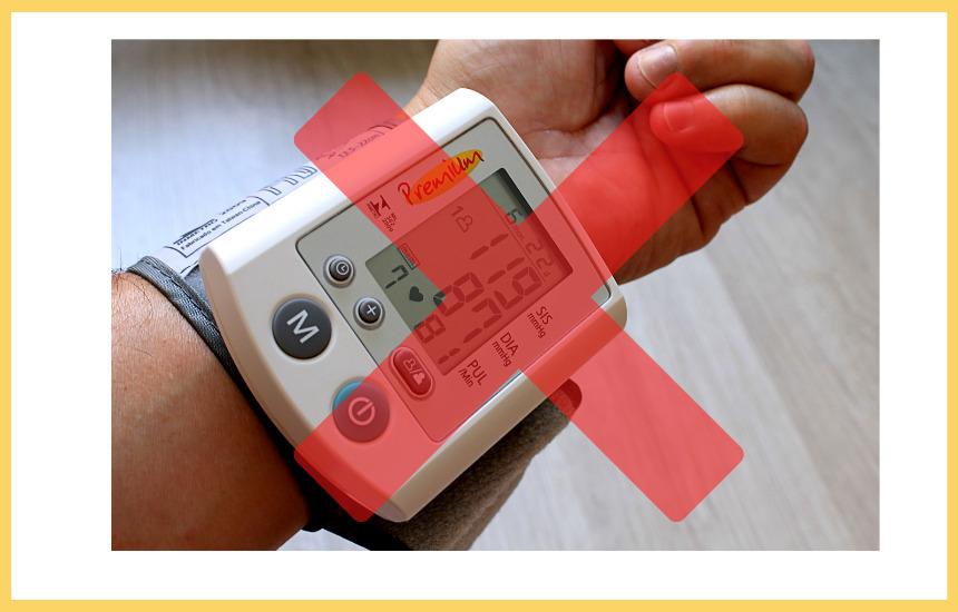 vivoactive4は血圧測定できない