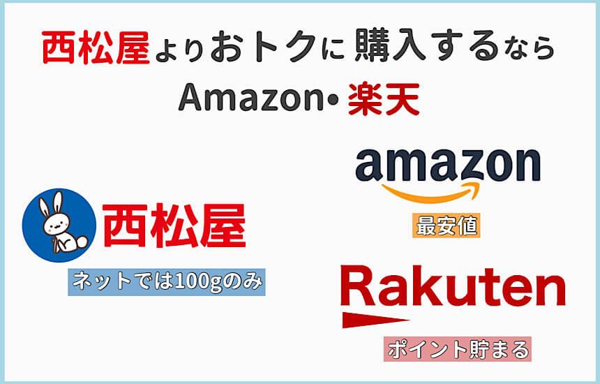 西松屋よりAmazonや楽天で購入するほうがおトク