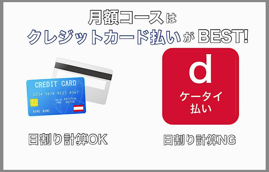 クレジットカードとアプリ