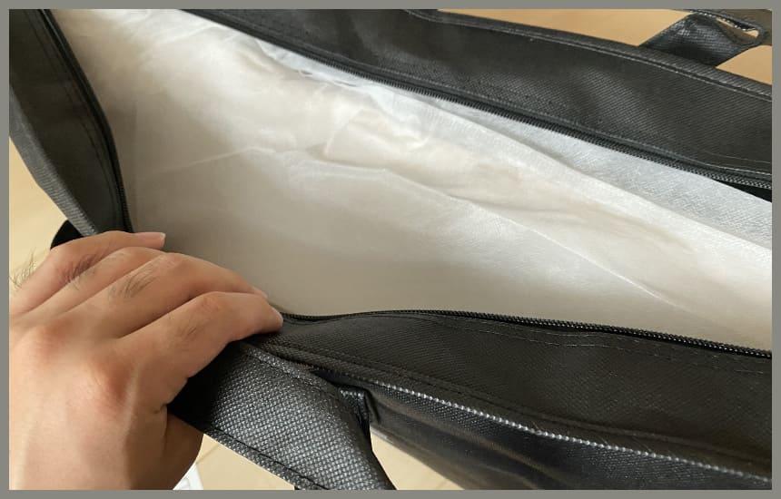 themakuraの袋の開封